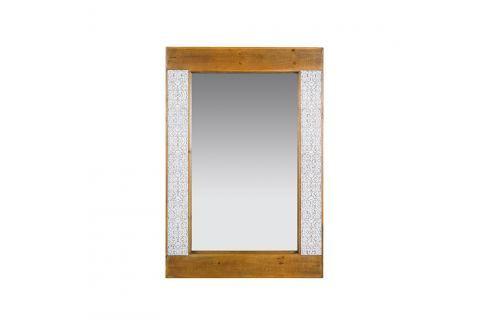 Zrcadlo z jedlového dřeva a železa Santiago Pons Nara Jídelní stoly