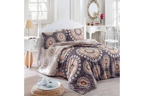 Přehoz přes postel na dvoulůžko s povlaky na polštáře Libras,200x220cm Povlečení aložní prádlo