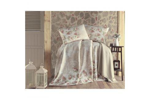 Set přehozu přes postel, prostěradla a 2 povlaků na polštář na dvoulůžko Fruity, 200 x 235 cm Povlečení aložní prádlo