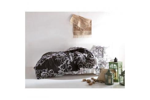 Povlečení s prostěradlem na jednolůžko Reterro Samalta, 160 x 220 cm Povlečení aložní prádlo