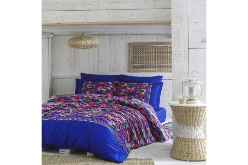 Bavlněné povlečení s prostěradlem na dvoulůžko Masque, 200 x 220 cm Povlečení aložní prádlo