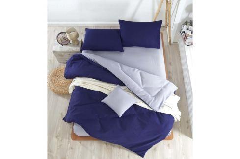 Povlečení s prostěradlem na dvoulůžko Permento Samir, 200 x 220 cm Povlečení aložní prádlo