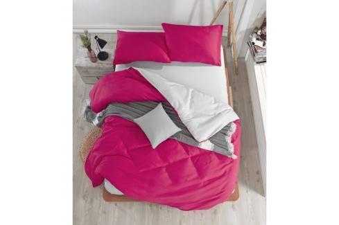 Povlečení s prostěradlem na dvoulůžko Permento Ladida, 200 x 220 cm Povlečení aložní prádlo