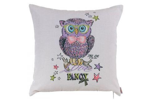 Povlak na polštář Apolena Fancy Owl Polštáře apřehozy