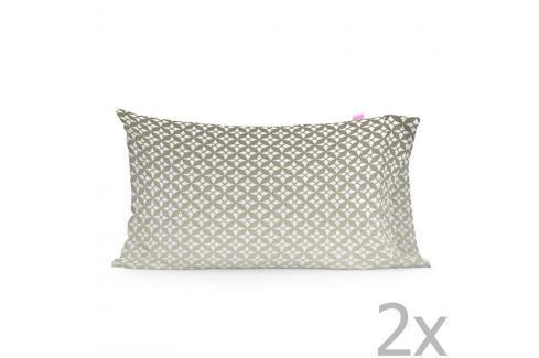 Sada 2 bavlněných povlaků na polštář Happy Friday Embroidery,50x75cm Polštáře apřehozy
