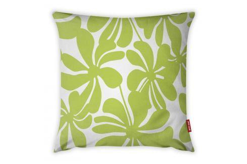 Limetkově zeleno-bílý povlak na polštář Vitaus Jungle Paradiso, 43 x 43 cm Polštáře apřehozy