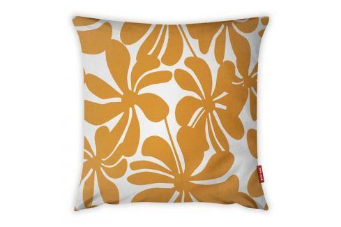 Oranžovo-bílý povlak na polštář Vitaus Jungle Paradiso, 43 x 43 cm Polštáře apřehozy